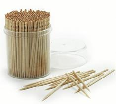 Ornate Wood Toothpicks (360-Pack)