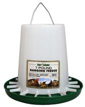 7 lb. Plastic Hanging Poultry Feeder