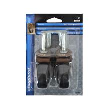2 in. Rubber Casters (2-Pack)
