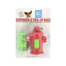 Fire Hydrant Waste Pick-Up Bag Dispenser