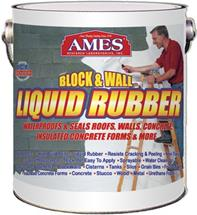Rubberized Acrylic Block and Wall Coating, 1-Gallon
