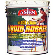 Liquid Rubber Block and Wall Coating, 5-Gallon
