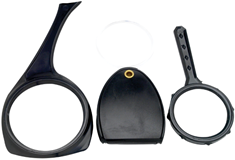 Performance Tool 3-Piece Magnifying Glass Set