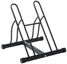 2-Bicycle Floor Storage Rack