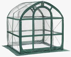 SpringHouse 6 ft. 6 in. x 6 ft. x 6 ft. Greenhouse