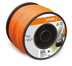 .095 in. x 856 ft. Round Trimmer Line, Orange