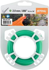 .080 in. x 50 ft. Round Trimmer Line, Green