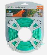 .080 in. x 200 ft. Round Trimmer Line, Green