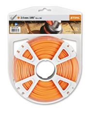 .095 in. x 280 ft. Round Trimmer Line, Orange