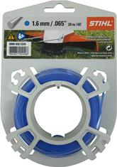 .065 in. x 65 ft. Round Trimmer Line, Blue