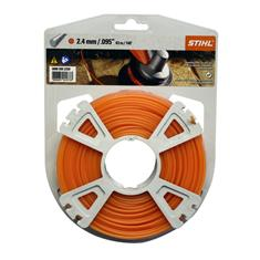 .095 in. x 140 ft. Round Trimmer Line, Orange