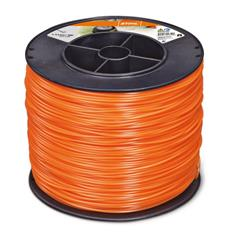 .095 in. x 1423 ft. Round Trimmer Line, Orange