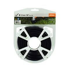.130 in. x 130 ft. Round Trimmer Line, Black