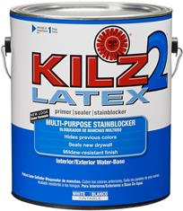 KILZ 2 Latex Primer/Sealer/Stainblocker, 1-Gallon