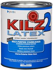 KILZ 2 Latex Primer/Sealer/Stainblocker, 1-Quart
