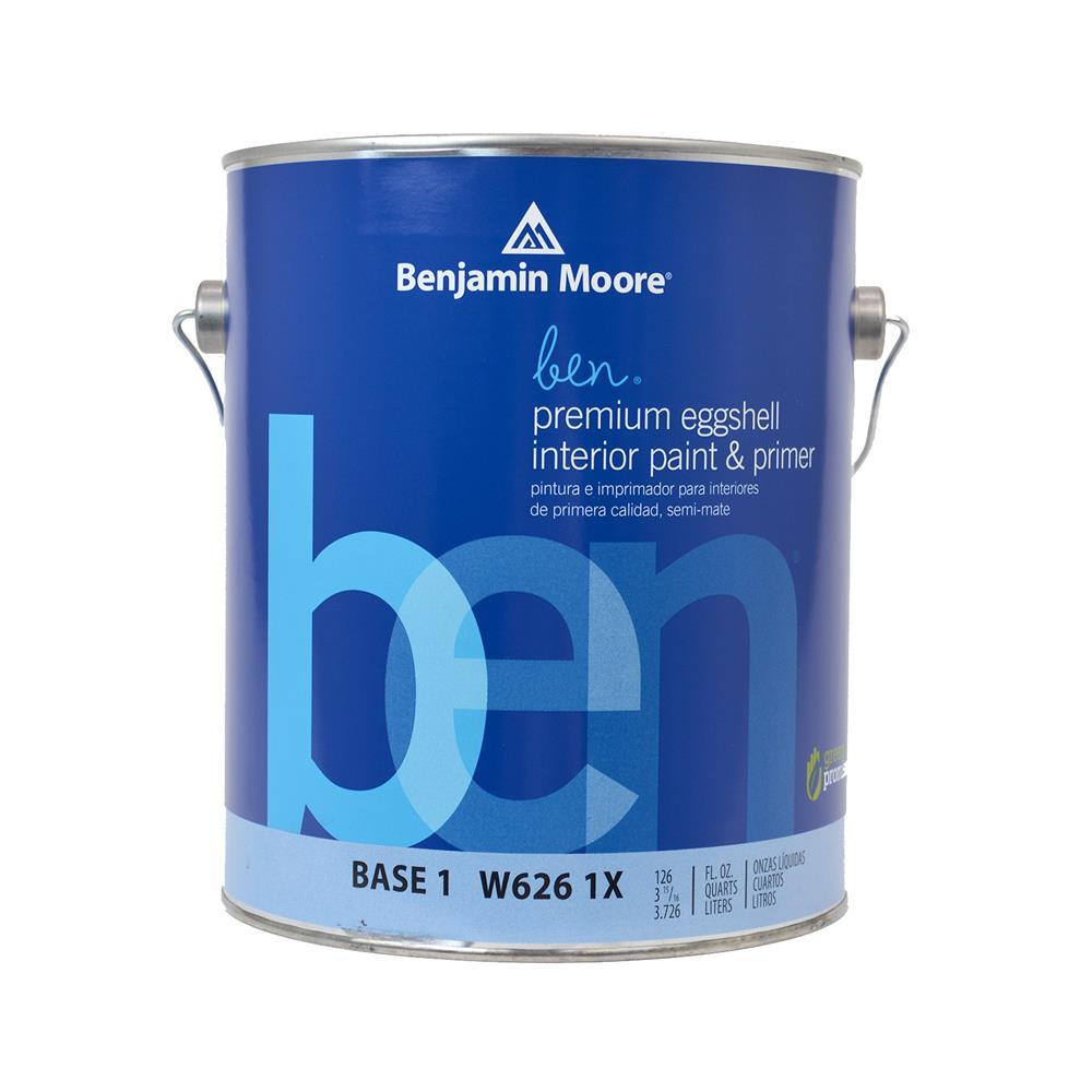 Beau Ben Waterborne Base 1 Eggshell Interior Paint, 1 Gallon