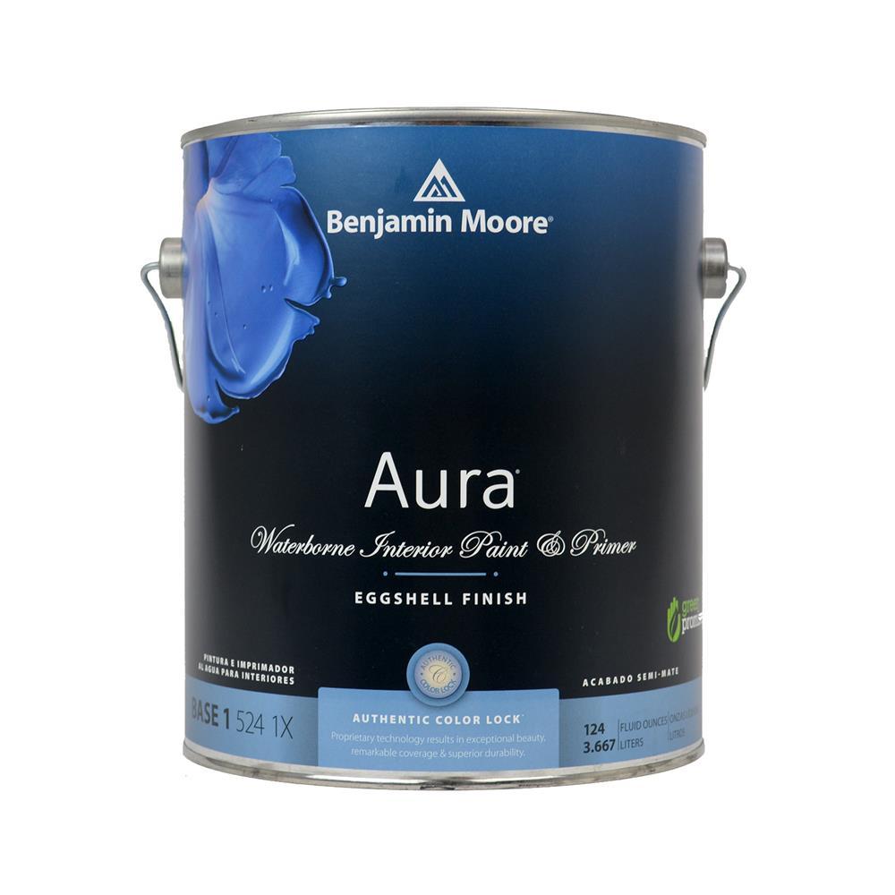 Aura Waterborne Base 1 Eggshell Interior Paint, 1 Gallon