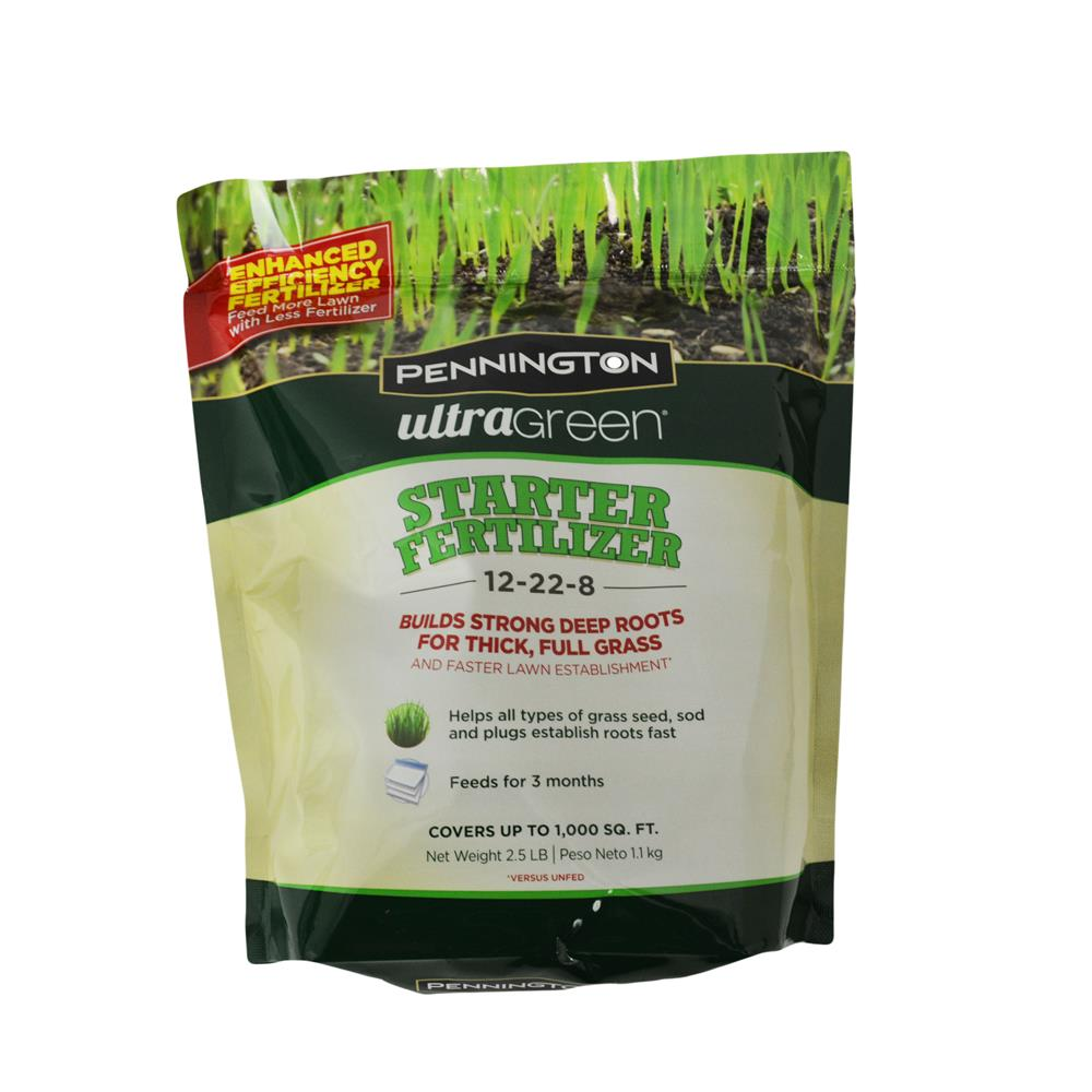 Pennington Ultragreen Lawn Starter Fertilizer 25 Lb