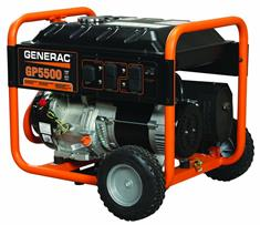 5,500-Watt Gasoline-Powered Portable Generator