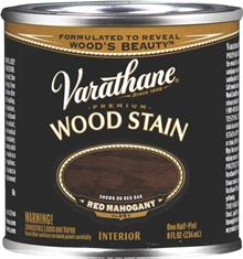 Red Mahogany Premium Wood Stain 1 2 Pint