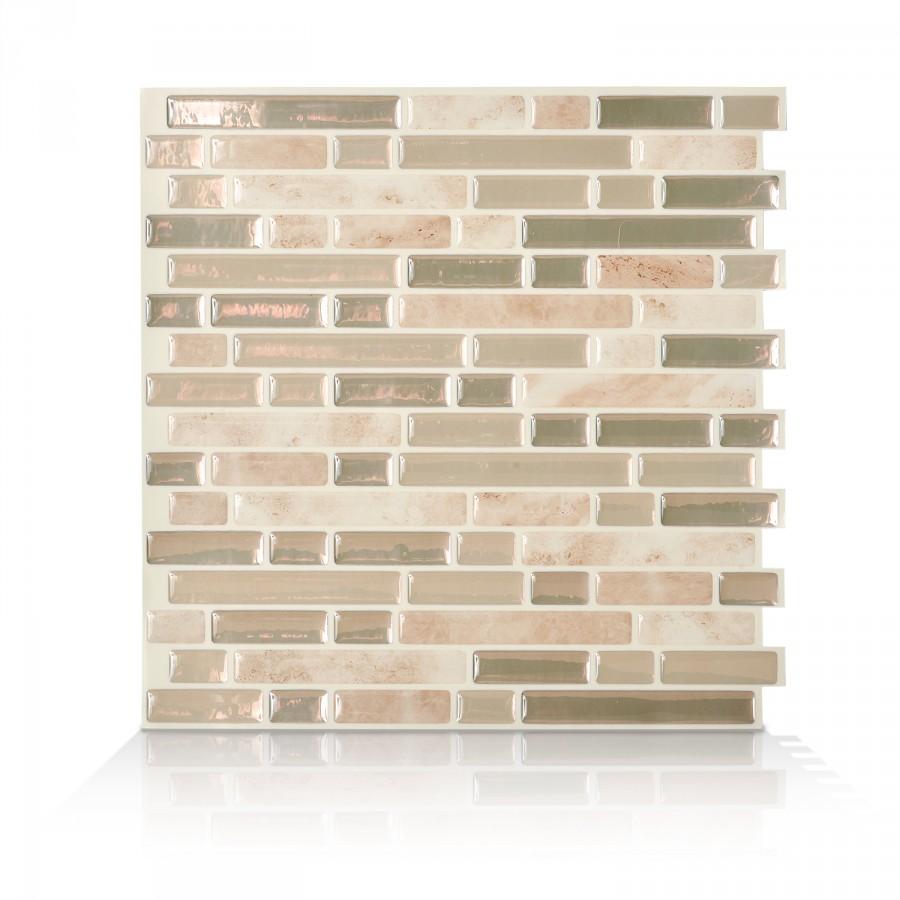 Smart Tiles Bellagio Sabbia Peel And Stick Wall Tilebacksplash 6