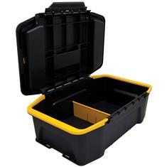 Click 'N Connect 19-29/32 in. Toolbox, Black/Yellow