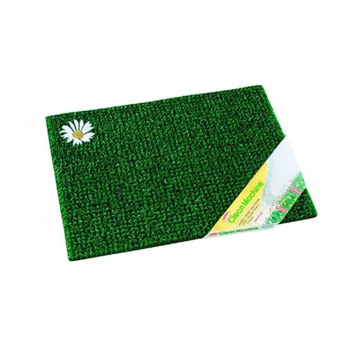 Evergreen Daisy Door Mat