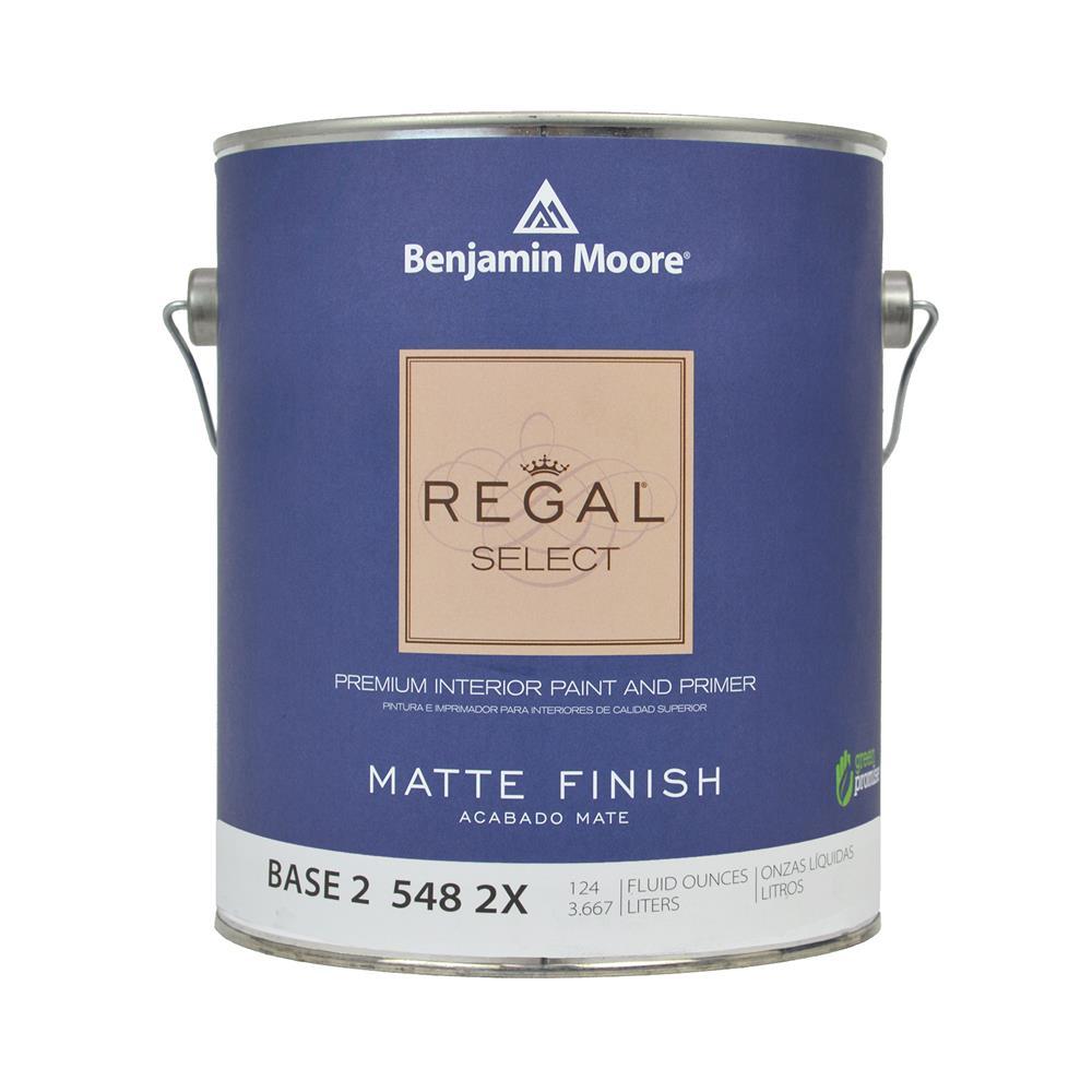 Benjamin Moore Regal Select Base 2 Matte Interior Paint 1 Gallon