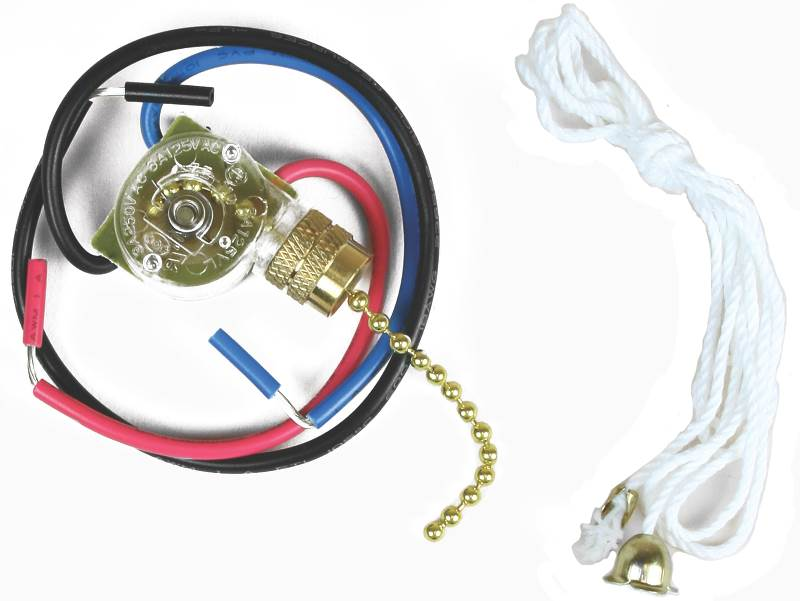Jandorf 3Way FanLight Switch with Pull Chain