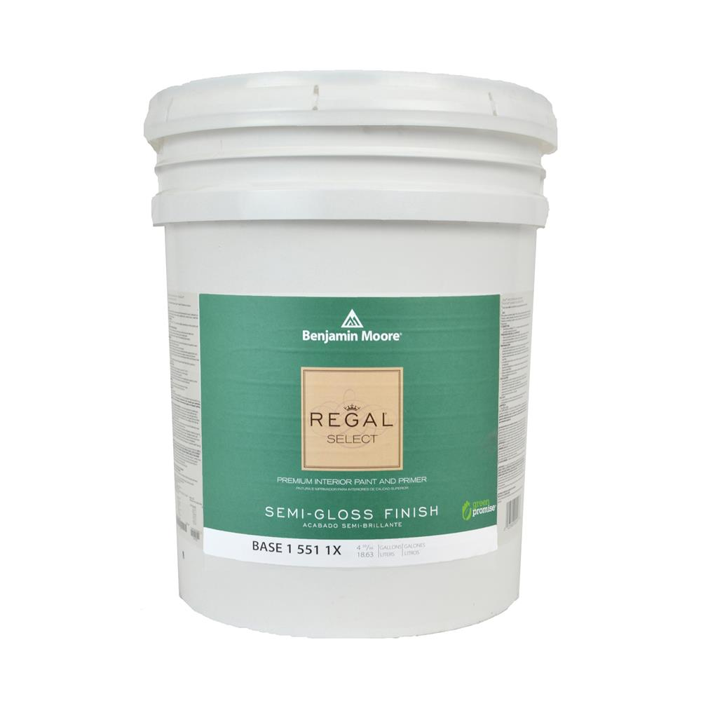 Attractive Regal Select Waterborne Base 1 Semigloss Interior Paint, 5 Gallon