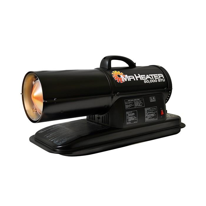 Mr Heater 50 000 Btu Portable Forced Air Kerosene Heater