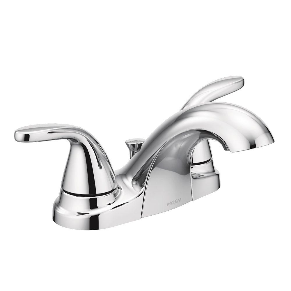 Moen - Adler 2-Handle Bathroom Faucet, Chrome