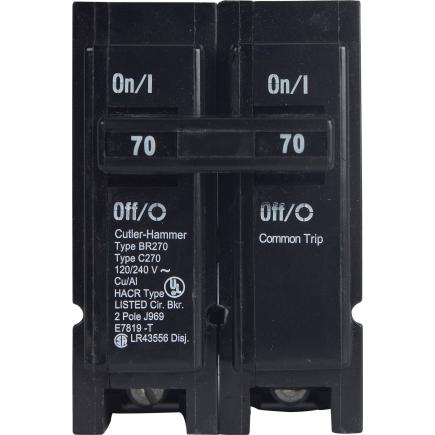 Connecticut Electric - 2-Pole 70-Amp T&B Circuit Breaker