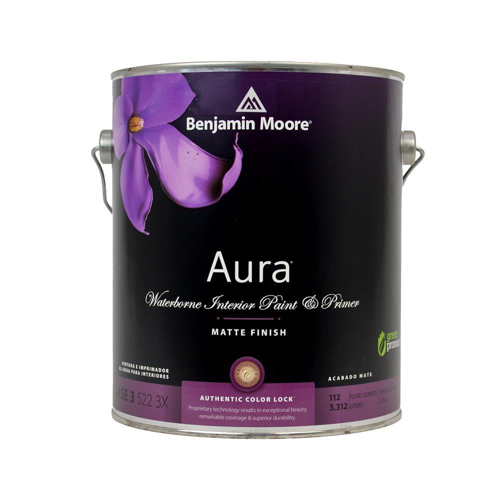 Aura waterborne interior paint matte finish for Benjamin moore aura interior matte 522