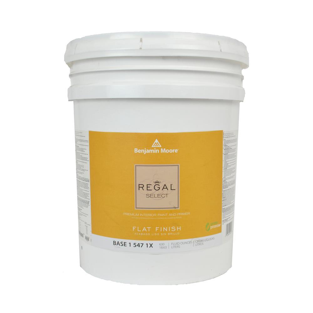 Marvelous Regal Select Base 1 Flat Finish Interior Paint, 5 Gallon