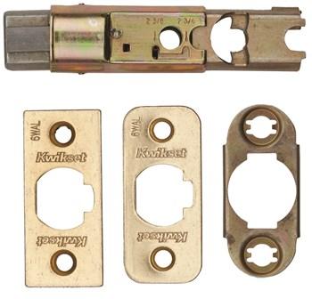 Polished Brass Entry Door Deadbolt Latch