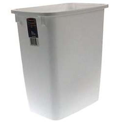 21 Qt Large Open Wastebasket Gorgeous Rubbermaid 60Quart White Waste Basket
