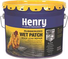 Wet/Dry Patch 3.3 Gallon Rubber Roof Cement
