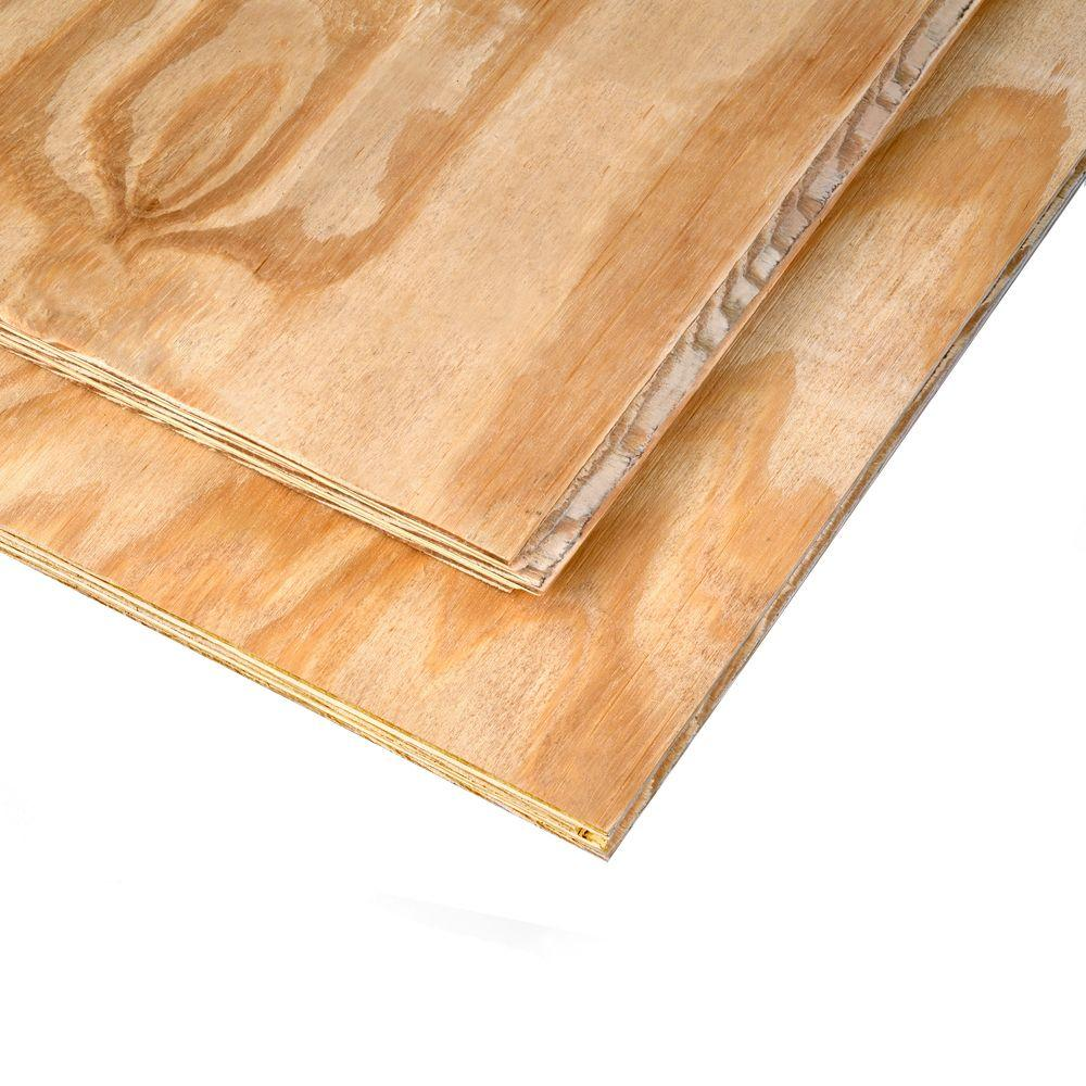 International Wood Products 1 1 8 In X 4 Ft X 8 Ft