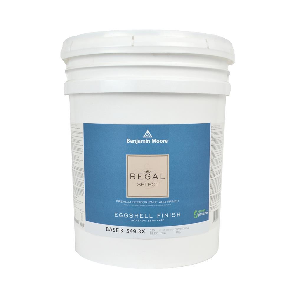 High Quality Regal Select Base 3 Eggshell Interior Paint, 5 Gallon