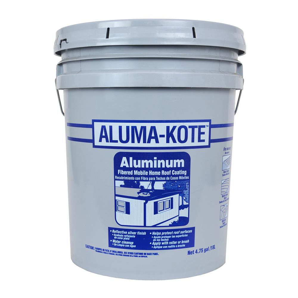 Mobile Home Roof Coating, 4.75 Gallon