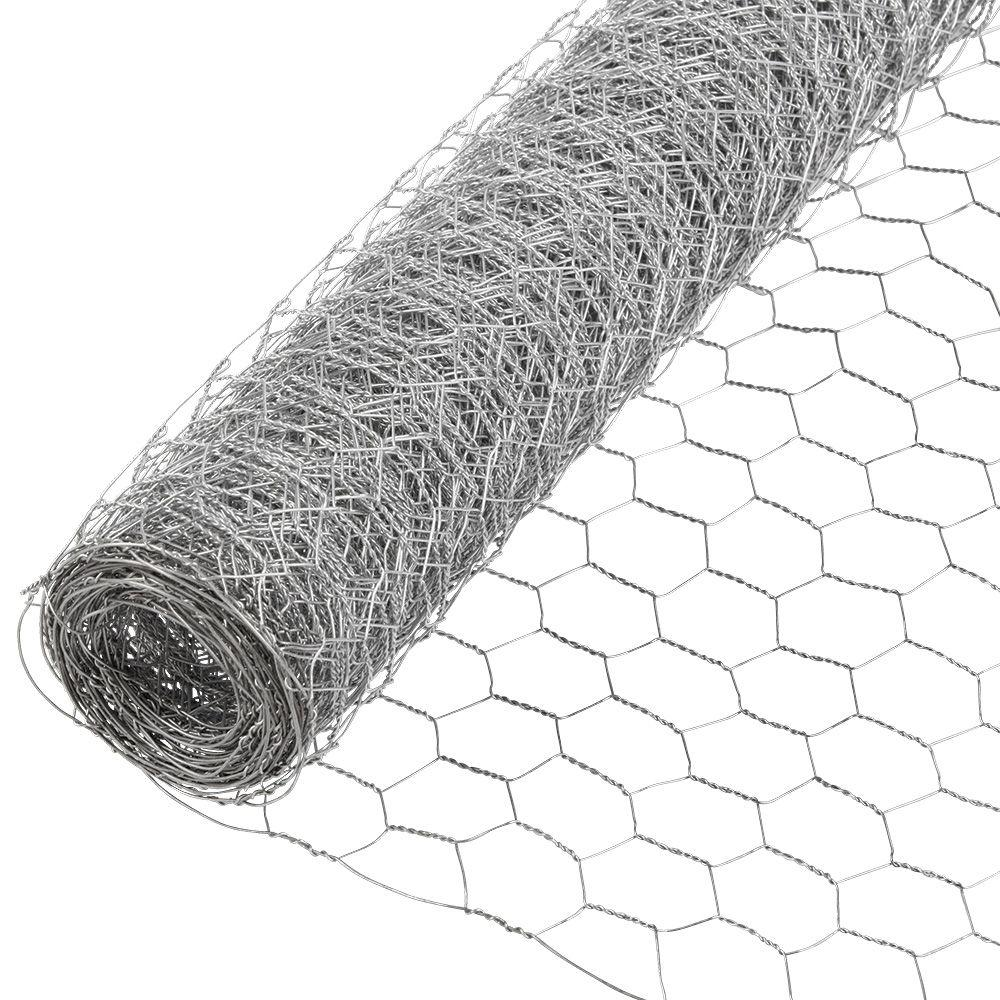 Grip-Rite - 1 in. x 18 in. x 50 ft. Galvanized Poultry Netting