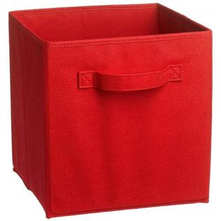Charmant Red Cubeicals Fabric Drawer
