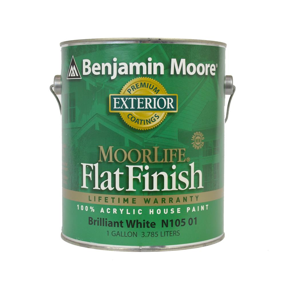 Benjamin Moore - Regal Select MoorLife Flat Finish Exterior Paint ...