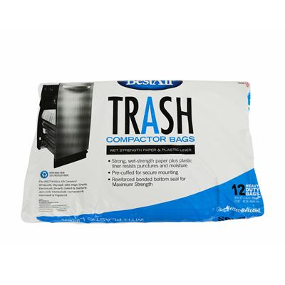 Trash Compactor Bags 12 Pack