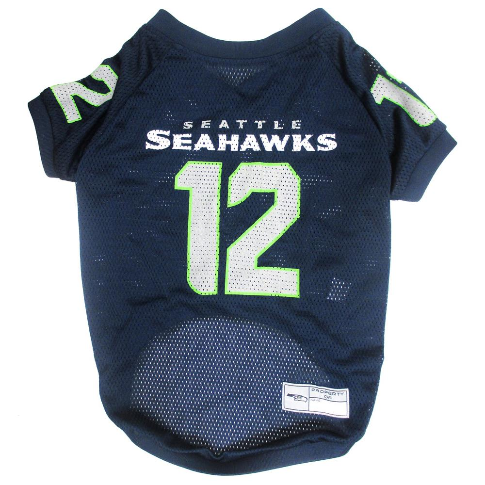 8df3e72a571 Pets First - NFL Seattle Seahawks No. 12th Pet Jersey