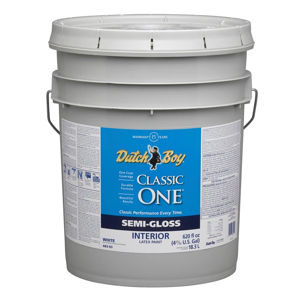 Glidden Professional 5 Gal Ultra Hide 770 Semigloss: 5 Gallon Interior Paint Coverage