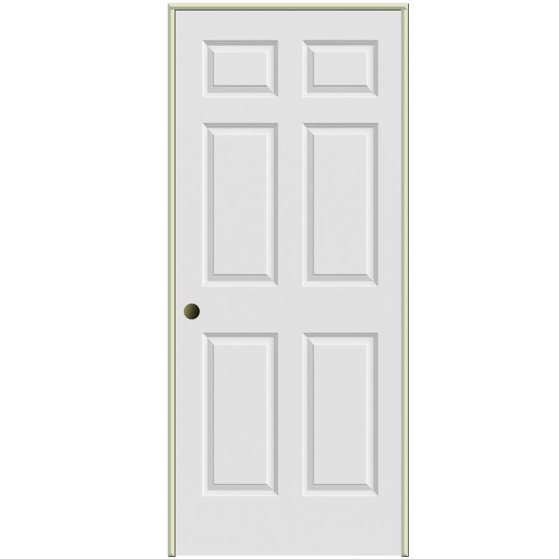 Hover to zoom  sc 1 st  McLendon Hardware & Lynden Door - Smooth Colonist Hollow Core 2/6 Door Right Hand 4-9 ...