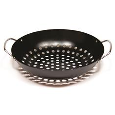 Perforated Grill Wok