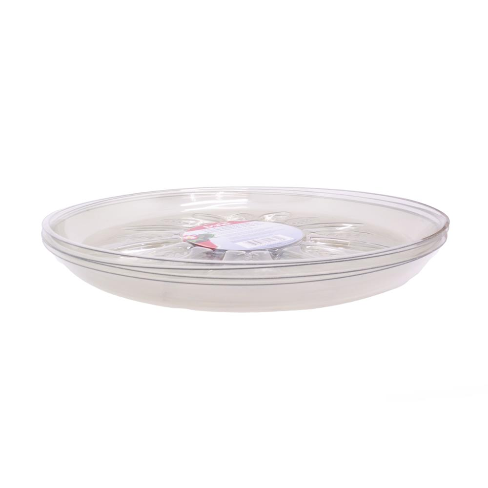 Heavy Duty Clear Plastic Saucer  sc 1 st  McLendon Hardware & Bond - 12 in. Heavy Duty Clear Plastic Saucer